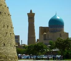 Uzbekistán - bájná země Orientu na hedvábné stezce