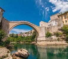 Bosna a Herzegovina - Kalifornie Evropy