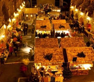 Advent v Grazu s lipicány a čokoládou