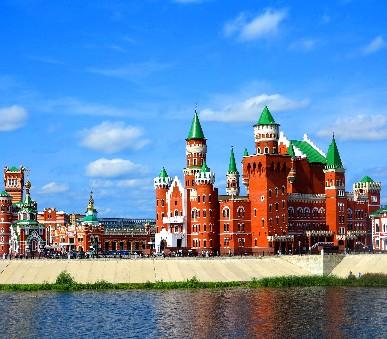 Moskva, zlatý kruh - Sergiev Posad a pohádkový Tatarstán