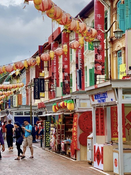 Singapur - perla Asie od A do Z (fotografie 74)