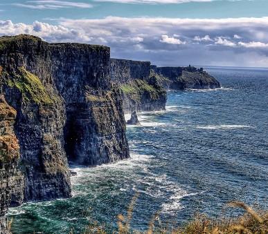 Velký okruh Irskem, ostrov Sv. Patrika
