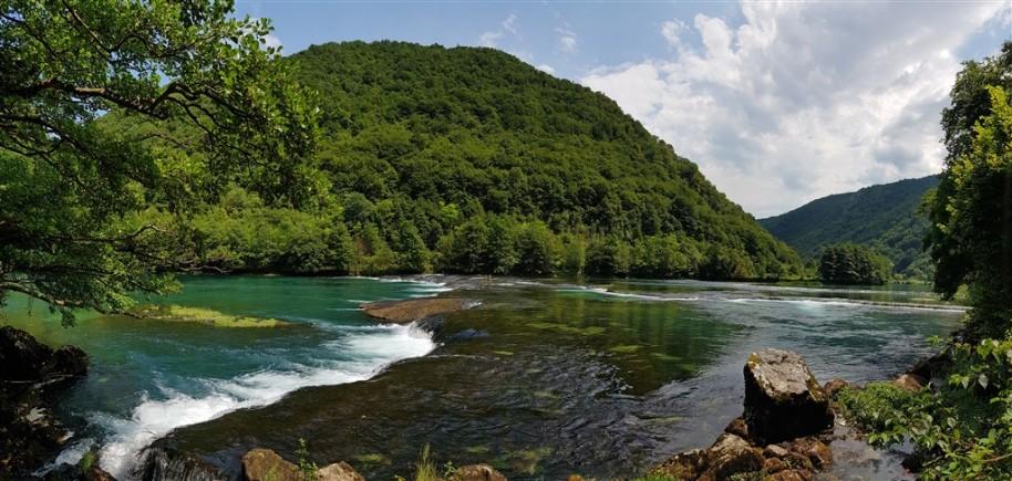 Bosna a Hercegovina s koupáním u moře i vodopádů (fotografie 4)