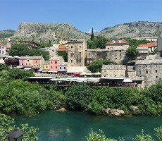 Bosna a Hercegovina s koupáním u moře i vodopádů