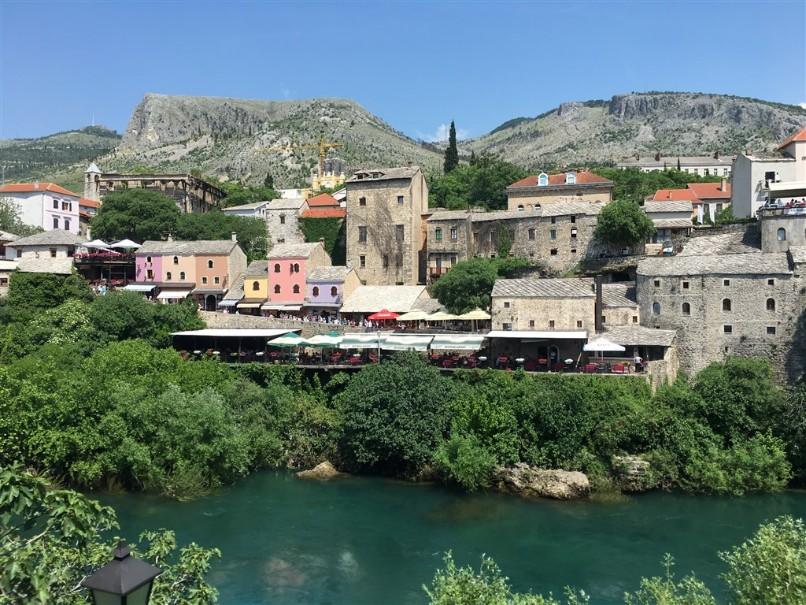 Bosna a Hercegovina s koupáním u moře i vodopádů (fotografie 1)