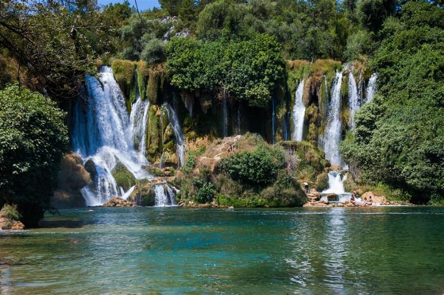 Bosna a Hercegovina s koupáním u moře i vodopádů (fotografie 10)