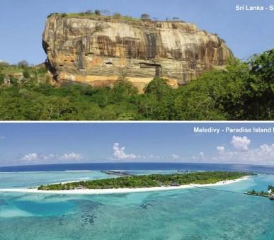 Okruh Srí Lankou s pobytem na Maledivách