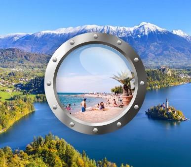 Podmanivé Slovinsko s koupáním u moře