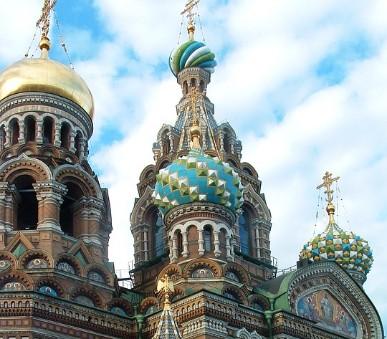 Petrohrad - letecky