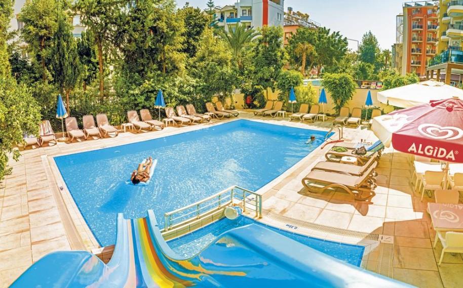 Hotel Kleopatra Celine (fotografie 1)