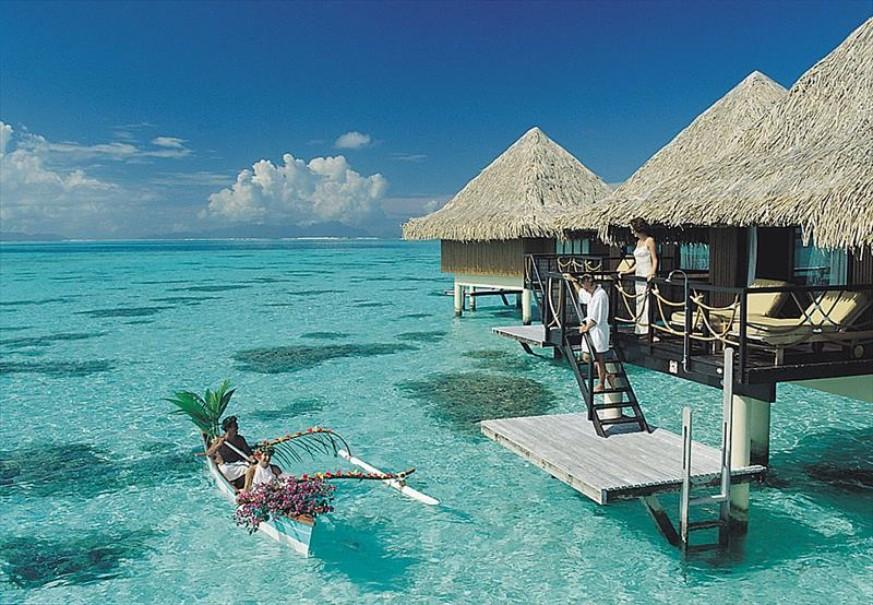 Hotel Intercontinental Bora Bora Le Moana Resort (fotografie 18)