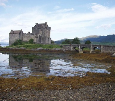 Nejkrásnější místa Skotska, ostrova Skye - letecky