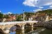 Bosna a Hercegovina s koupáním u moře i vodopádů (fotografie 2)
