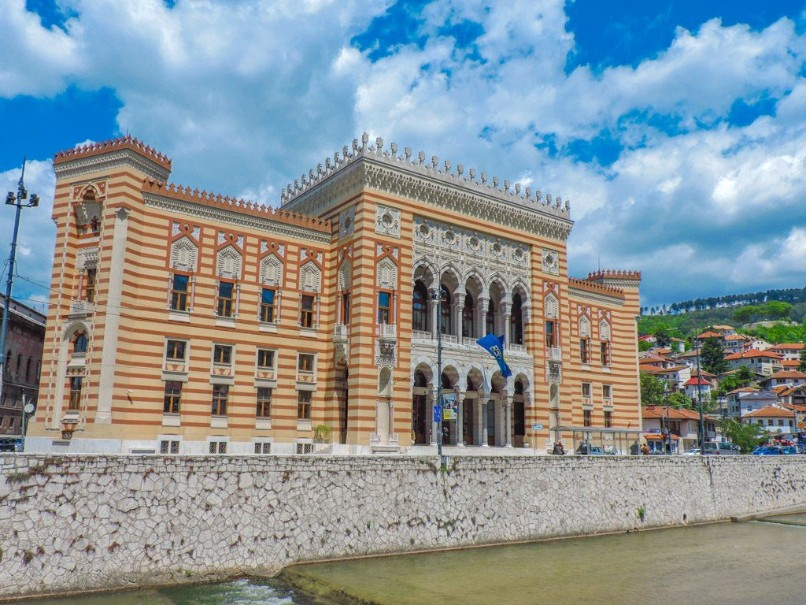 Bosna a Hercegovina s koupáním u moře i vodopádů (fotografie 9)