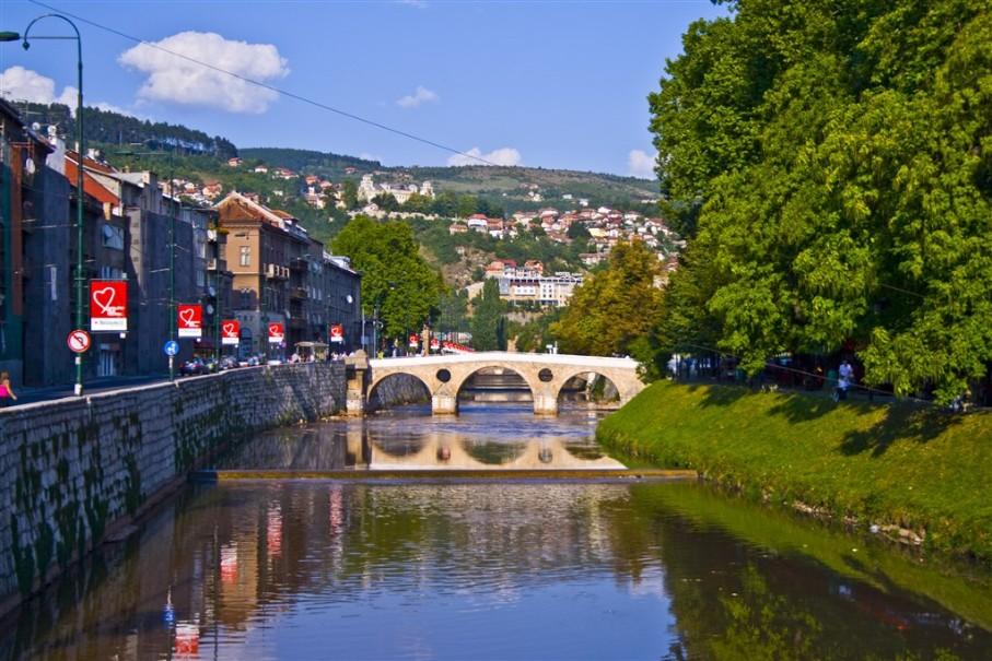Bosna a Hercegovina s koupáním u moře i vodopádů (fotografie 8)