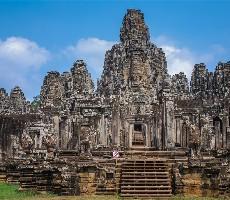 Chrámy Angkoru a pláž Sokha Beach