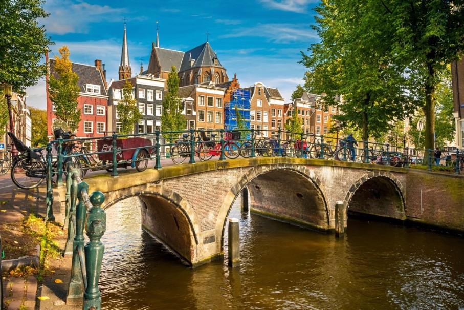 Za chutí sýrů, mlýny do Amsterdamu a Zaanse Schans s návštěvou města Alkmaar (fotografie 9)