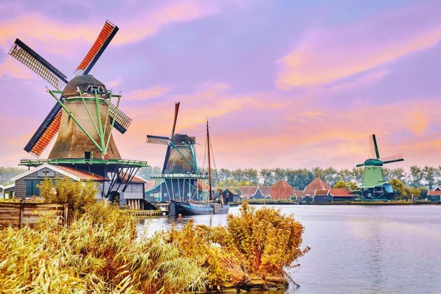 Za chutí sýrů, mlýny do Amsterdamu a Zaanse Schans s návštěvou města Alkmaar (fotografie 5)