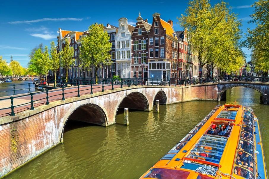 Za chutí sýrů, mlýny do Amsterdamu a Zaanse Schans s návštěvou města Alkmaar (fotografie 6)