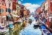 Za světoznámým karnevalem masek a návštěvou Benátek (fotografie 8)