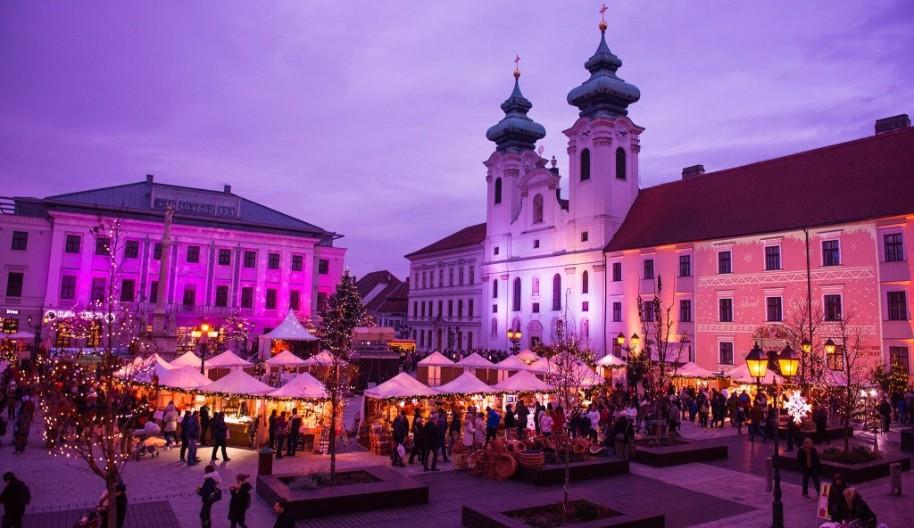 Celodenní koupání v termálních lázních Győr (fotografie 1)