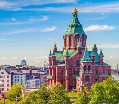 Hlavní Města Pobaltí A Helsinky