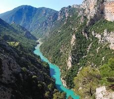 Kaňony jižní Francie