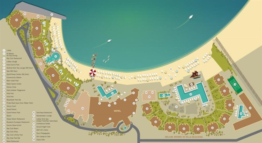 Doubletree By Hilton Hotel Resort & Spa Marjan Island (fotografie 37)