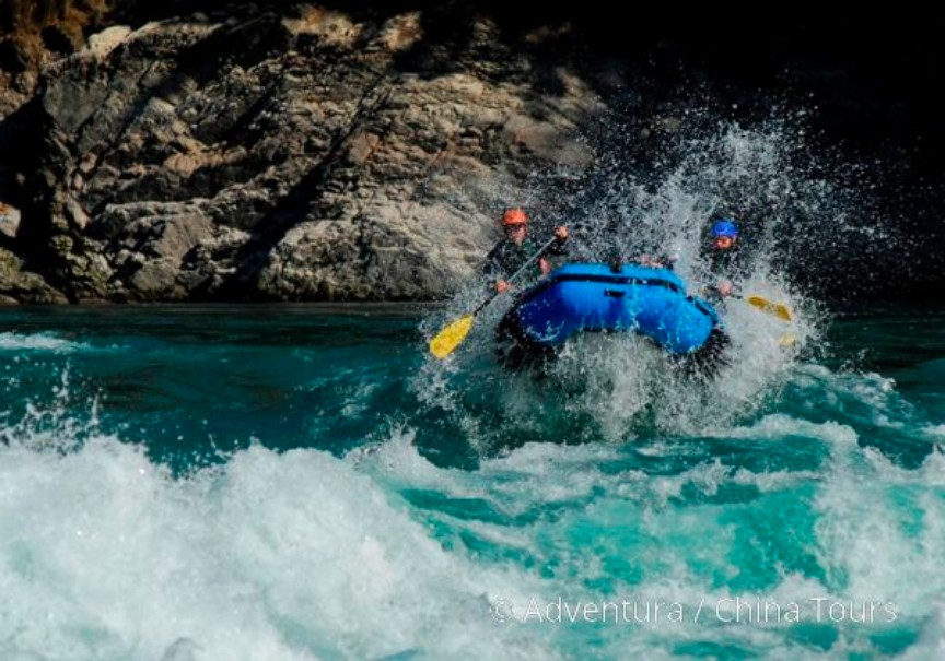 Rafting na himálajské řece Tamur (fotografie 1)