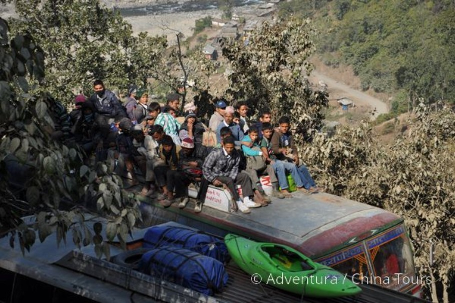 Rafting na himálajské řece Tamur (fotografie 6)