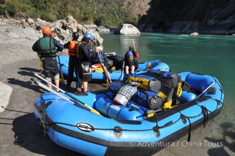 Rafting na himálajské řece Tamur (fotografie 7)