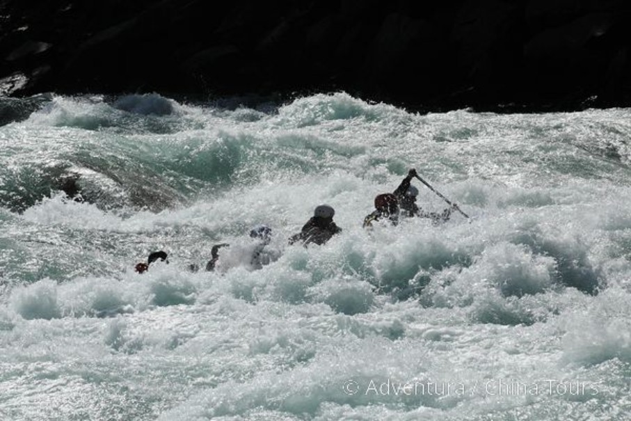 Rafting na himálajské řece Tamur (fotografie 9)