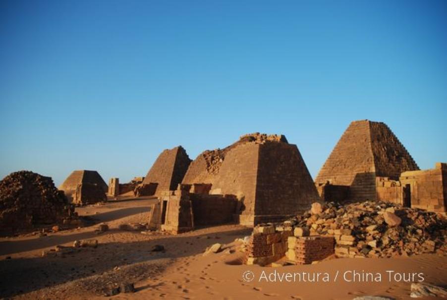 """Súdán – Saharou za """" černými faraony"""" (fotografie 1)"""