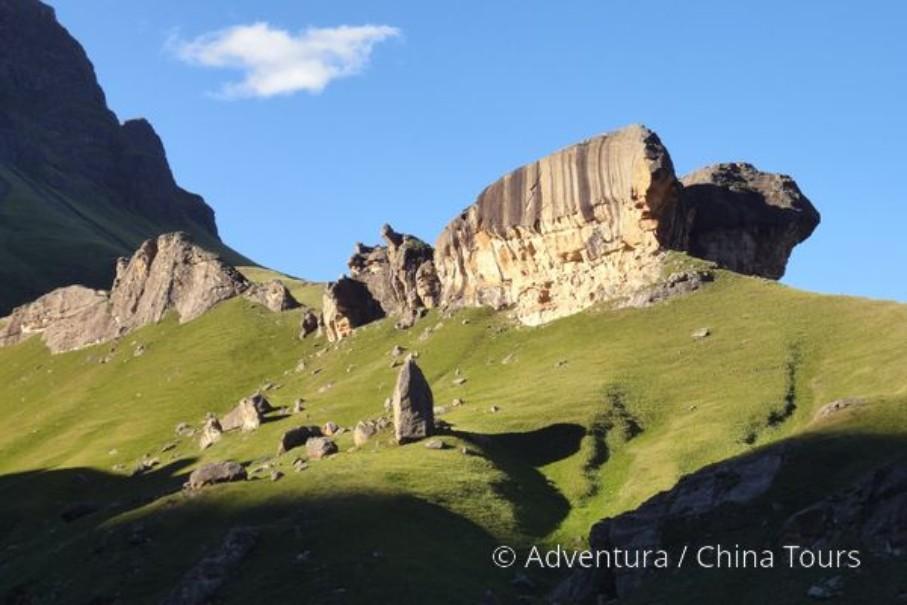 Turistika v jižní Africe – Dračí hory (fotografie 1)