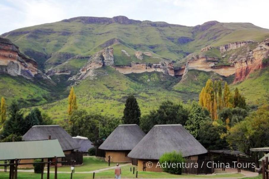 Turistika v jižní Africe – Dračí hory (fotografie 11)