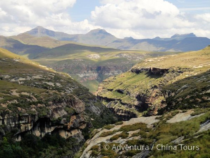 Turistika v jižní Africe – Dračí hory (fotografie 13)