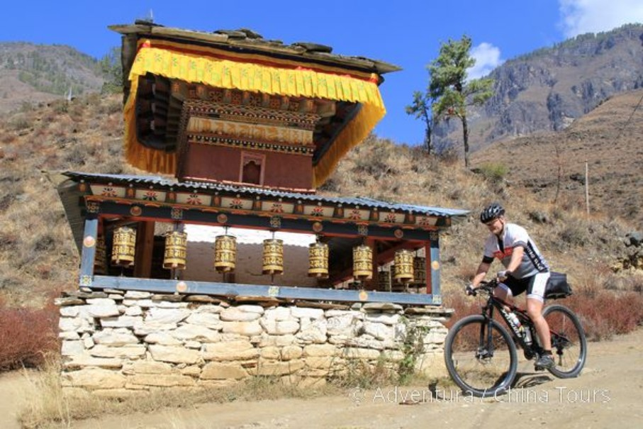 Bhútán na kole (fotografie 4)