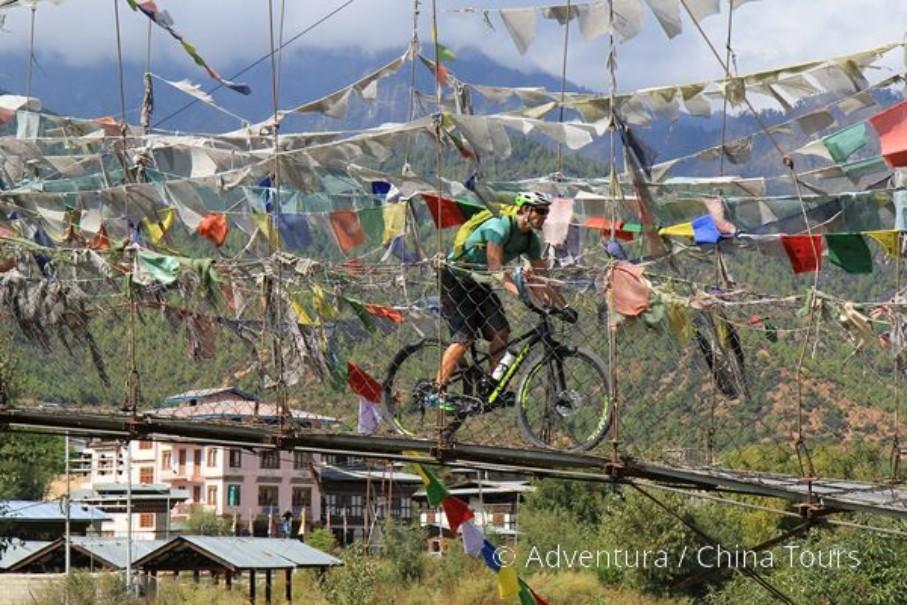 Bhútán na kole (fotografie 5)