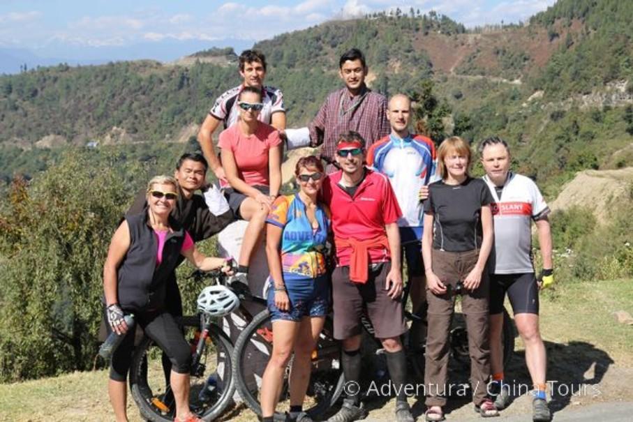 Bhútán na kole (fotografie 6)