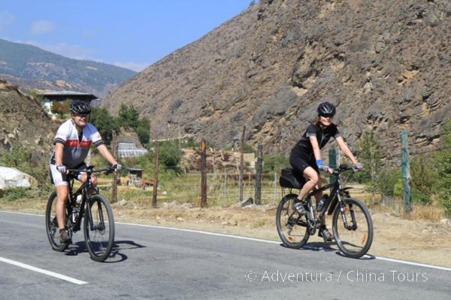 Bhútán na kole (fotografie 7)