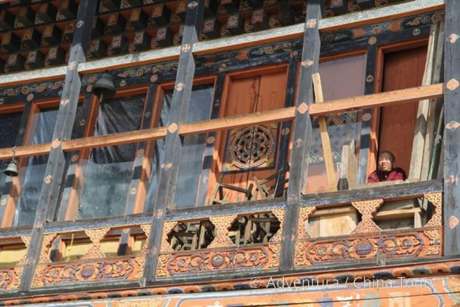 Bhútán na kole (fotografie 9)