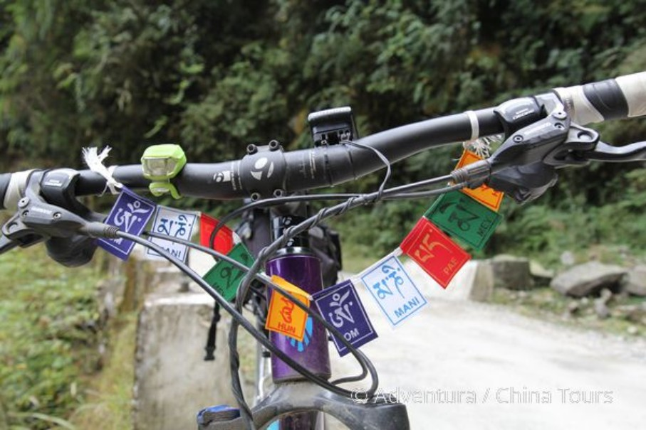 Bhútán na kole (fotografie 11)