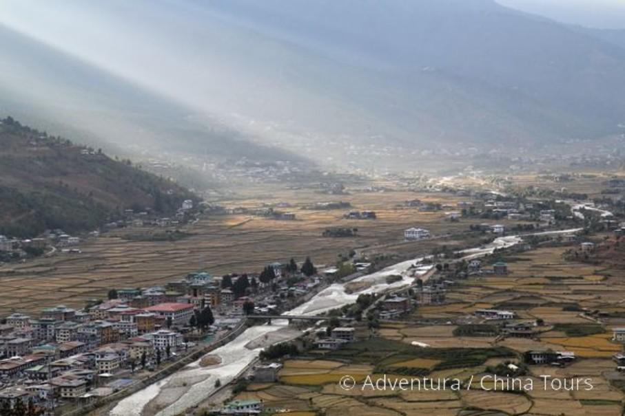 Bhútán na kole (fotografie 13)