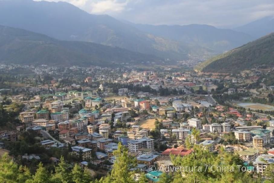 Bhútán na kole (fotografie 16)