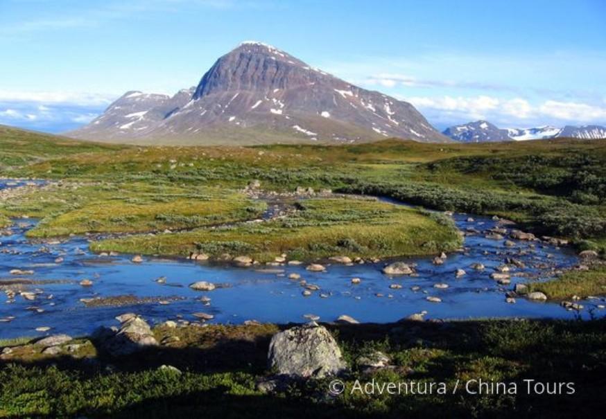 Švédsko – Treking v NP Sarek (fotografie 5)