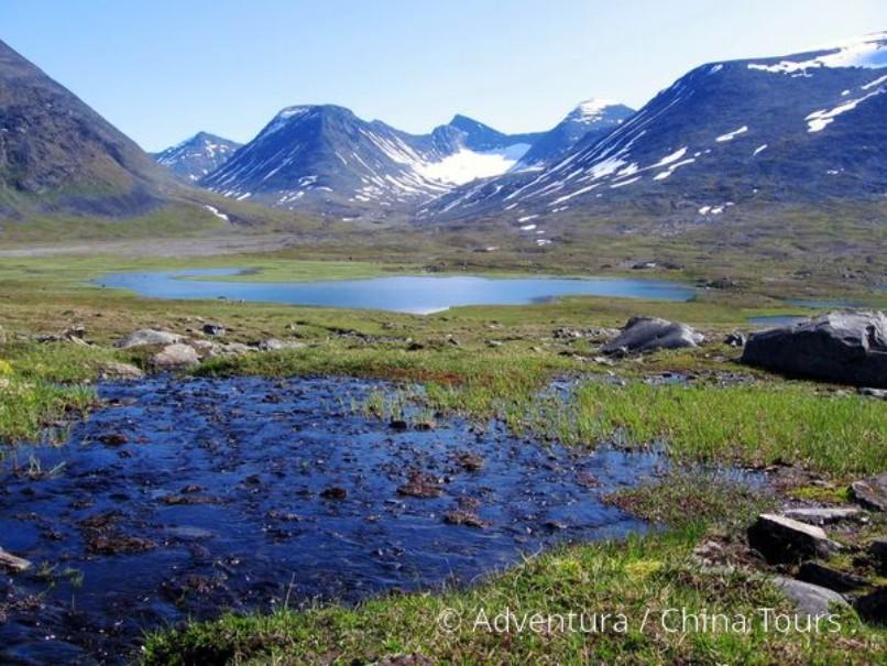Švédsko – Treking v NP Sarek (fotografie 9)