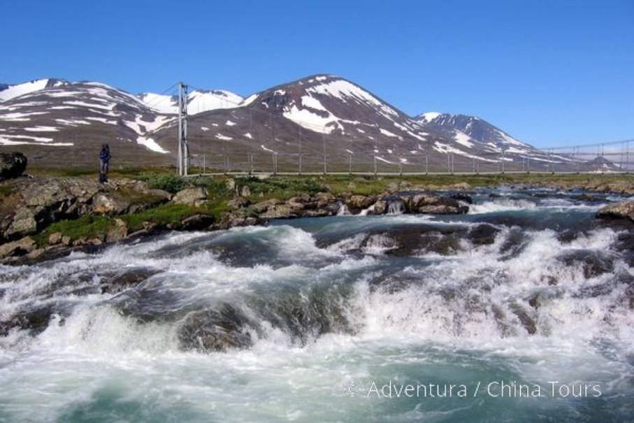 Švédsko – Treking v NP Sarek (fotografie 10)