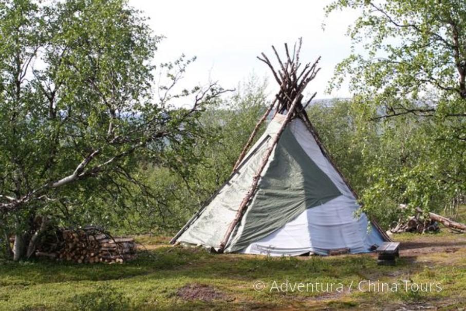 Švédským Laponskem z Abiska pod Kebnekaise (fotografie 7)