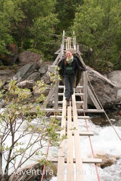 Švédským Laponskem z Abiska pod Kebnekaise (fotografie 8)