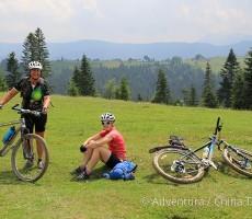 Zakarpatská Ukrajina na kole